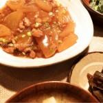 とろ〜り冬のおかず・大根とそぼろの炒め煮のつくりかた「おふくろレシピ#1」