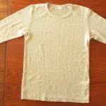 洗濯物を上手にたたむ方法-その2-「七分袖Tシャツ」をたたむコツ