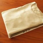「洋服のたたみ方」見栄え良く、かんたん、きれいに洗濯物をたたむコツ