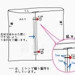 ファスナーの付け方 超入門・写真とイラストで詳しく解説!